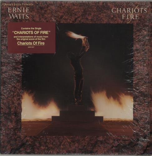 Ernie Watts Chariots Of Fire 1982 USA vinyl LP QWS3637
