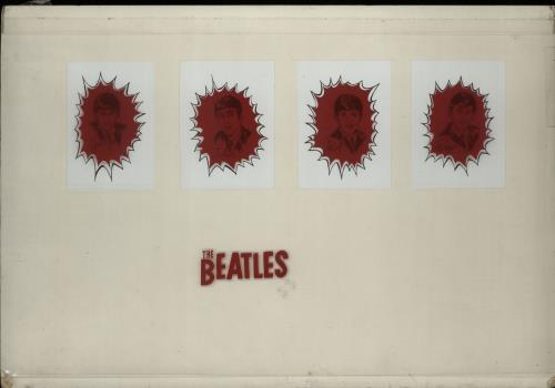 The Beatles 1964 Dairy Queen Glass Artwork 1964 Canadian artwork ARTWORK