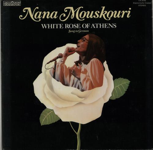 Nana Mouskouri White Rose Of Athens UK vinyl LP CN2018