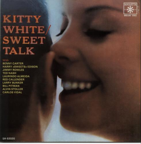 Kitty White Sweet Talk 1987 Spanish vinyl LP FSR557