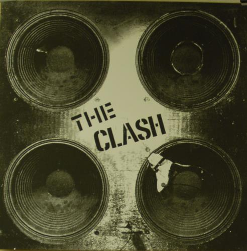 The Clash Black Market Clash Exhibition 2013 2013 UK poster 23.5 X 23.5