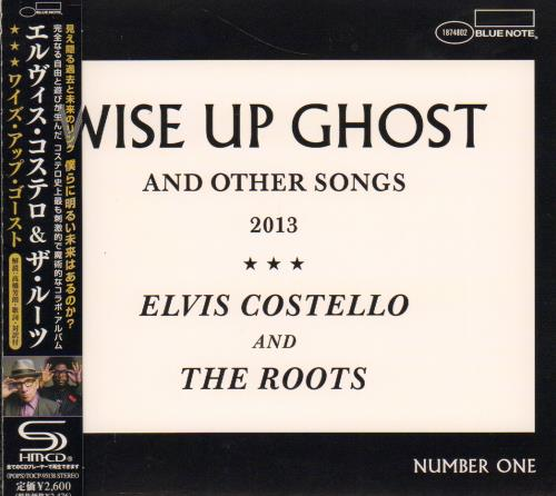 Elvis Costello Wise Up Ghost (And Other Songs 2013)  Number One 2013 Japanese SHM CD TOCP95138