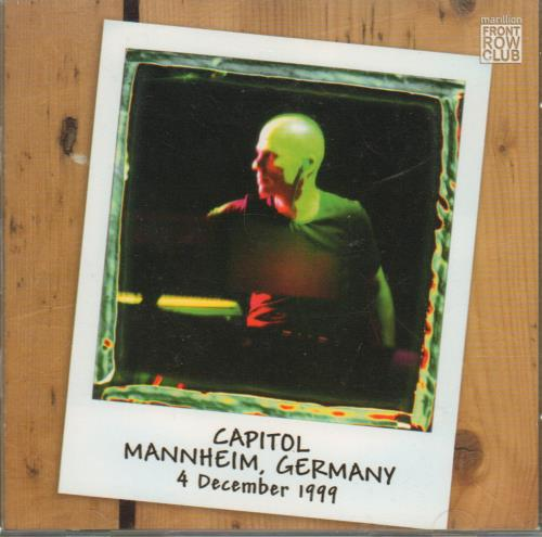 Capitol, Mannheim, Germany 4 December 1999