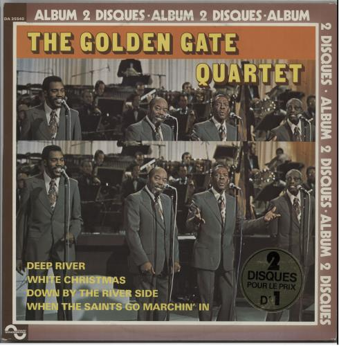 The Golden Gate Quartet Golden Gate Quartet 1977 French 2LP vinyl set DA35540