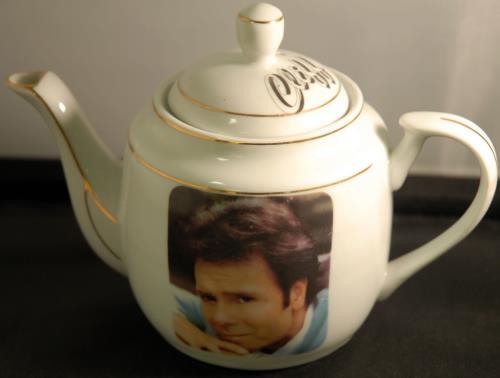 Cliff Richard Cliff  Teapot UK memorabilia TEAPOT