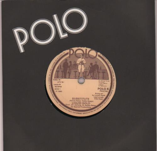 """Image of Liquid Gold Substitute 1980 UK 7"""" vinyl POLO4"""