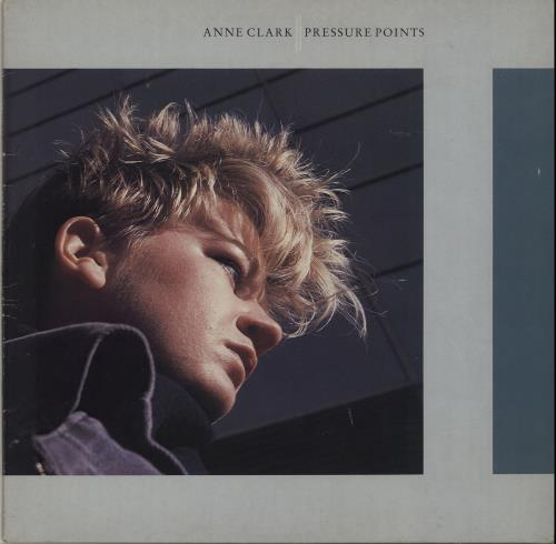 Anne Clark Pressure Points 1985 UK vinyl LP DIX18