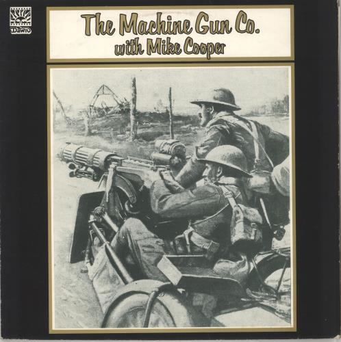 Mike Cooper The Machine Gun Co. With Mike Cooper  VG 1972 UK vinyl LP DNLS3031