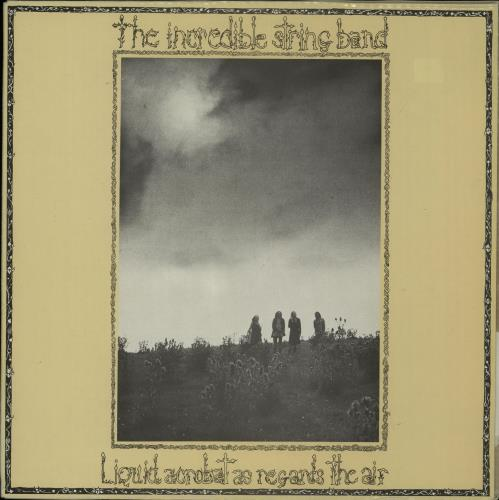 The Incredible String Band Liquid Acrobat As Regards The Air 1982 Spanish vinyl LP 85749L