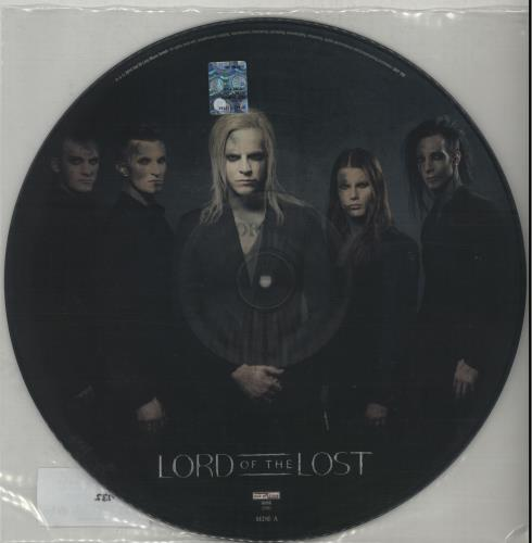 Lord Of The Lost Six Feet Underground 2014 German 12 picture disc OUT702