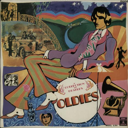The Beatles A Collection Of Beatles Oldies  Boxed Label Spanish vinyl LP MOCL5.314