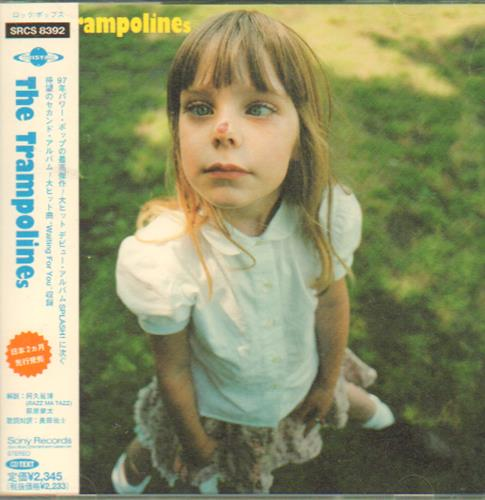 The Trampolines The Trampolines 1997 Japanese CD album SRCS8392