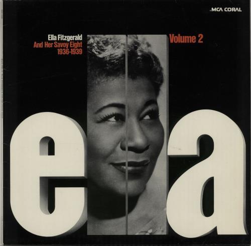 Ella Fitzgerald Ella Volume 2 1936  1939 1974 German vinyl LP PCO7333