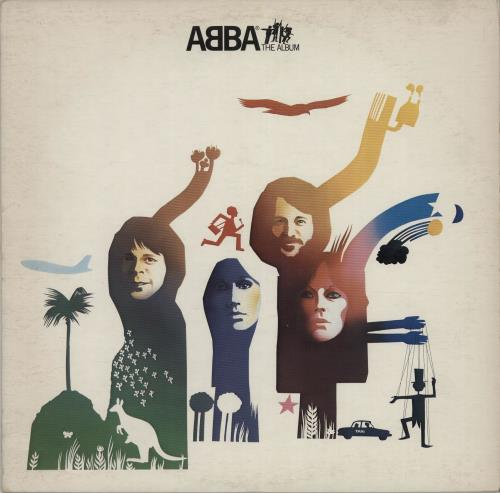 Abba ABBA The Album 1977 Canadian vinyl LP KSD19164