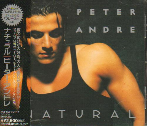 Image of Peter Andre Natural 1996 Japanese CD album BVCP-962
