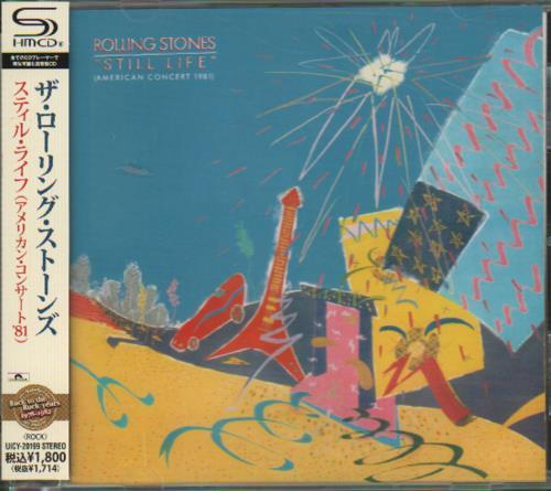 Rolling Stones Still Life American Concert 1981 2011 Japanese SHM CD UICY20199