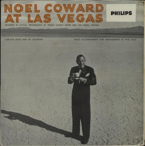 Noël Coward At Las Vegas & In New York 1959 UK vinyl LP BBL710867