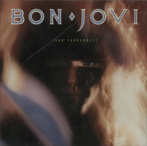 Bon Jovi 7000 Fahrenheit 1995 UK CD album 8245092M1