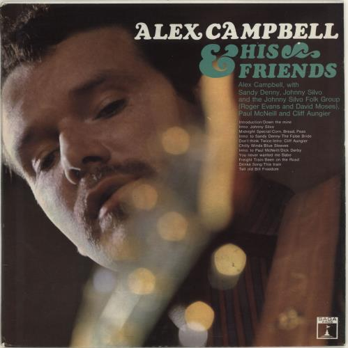 Alex Campbell Alex Campbell & His Friends 1967 UK vinyl LP ERO8021