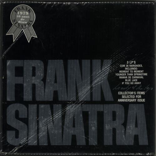 Frank Sinatra Lonely At The Top 1979 Brazilian vinyl box set 34.021022023