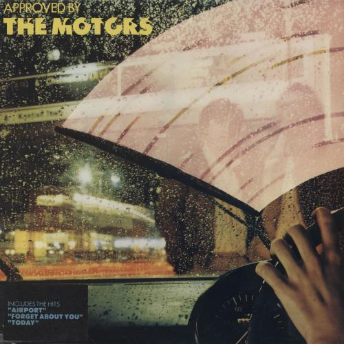 The Motors Approved By The Motors  Red Vinyl  Original Artwork 1978 UK vinyl LP V2101