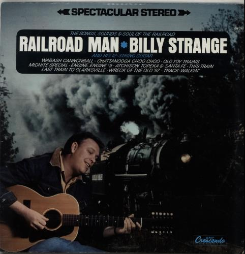 Billy Strange Railroad Man 1968 USA vinyl LP GNP2041