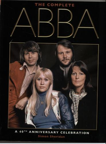 Abba The Complete ABBA 2012 UK book ISBN9780857687241