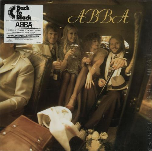 Abba ABBA  180gm  Sealed 2011 UK vinyl LP POLS262
