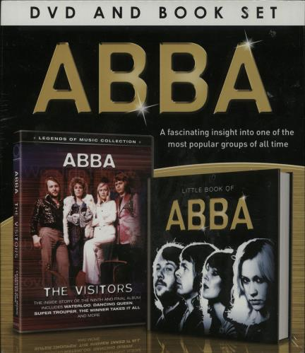Abba ABBA DVD And Book Set 2014 UK DVD 9781909768772
