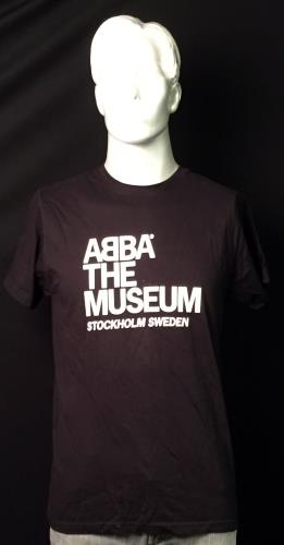 Abba ABBA The Museum  L 2013 Swedish tshirt BLACK L TSHIRT