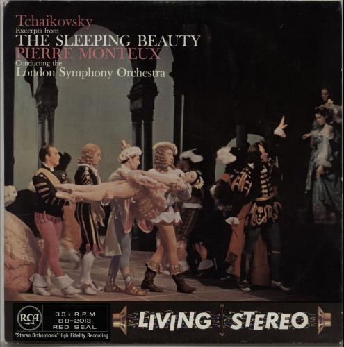 Pyotr Ilyich Tchaikovsky Excerpts From The Sleeping Beauty Op. 66 1960 UK vinyl LP SB2013