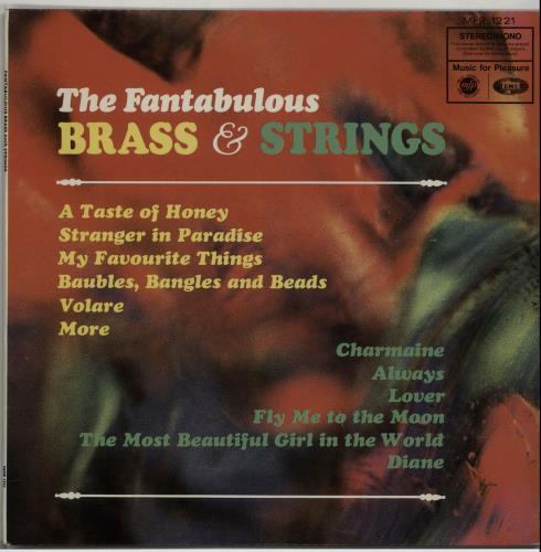 Image of Various-Brass Bands The Fantabulous Brass & Strings 1967 UK vinyl LP MFP1221