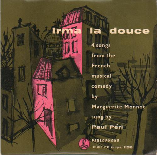 VariousFilm Radio Theatre & TV Irma La Douce 1957 UK 7 vinyl GEP8629