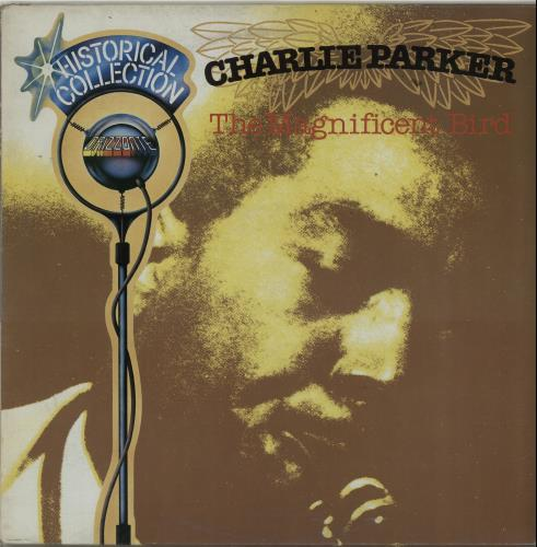 Charlie Parker The Magnificent Bird 1983 Italian vinyl LP ORL8610