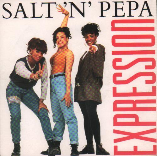 Salt N Pepa - Expression - 1992 Issue