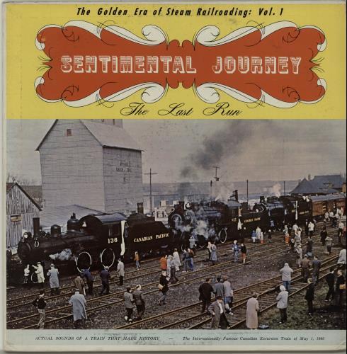 VariousTrains Sentimental Journey 1961 Canadian vinyl LP ARS14561