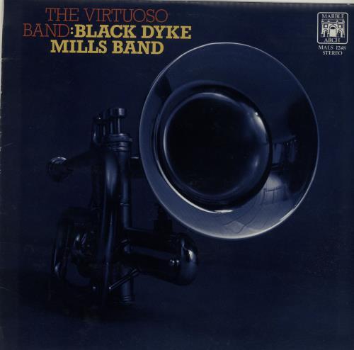 Image of Black Dyke Mills Band The Virtuoso Band 1966 UK vinyl LP MALS1248