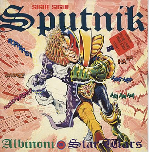 Sigue Sigue Sputnik Albinoni Vs Star Wars 1989 UK 12\