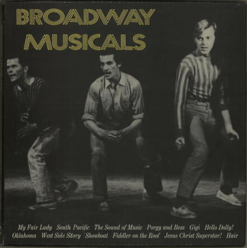 VariousFilm Radio Theatre & TV Broadway Musicals 1974 UK vinyl box set SMS64306435