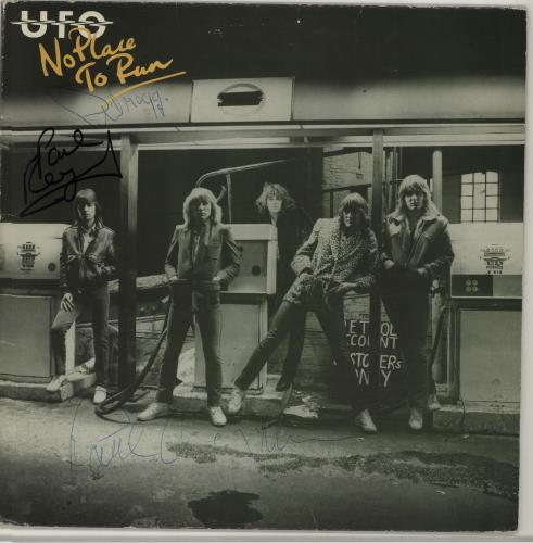 No Place To Run - Autographed - UFO