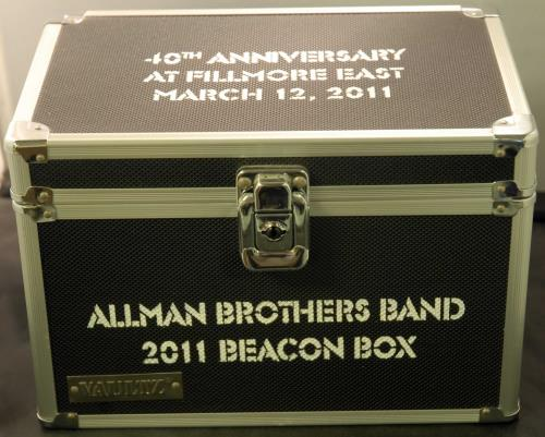 Allman Brothers Band 2011 Beacon Box 2011 USA cd album box set BEACON BOX