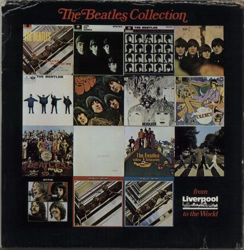 The Beatles The Beatles Collection  From Liverpool To The World  VG 1974 UK memorabilia FAN PACK