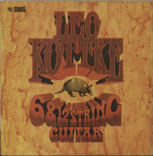 Leo Kottke 6 And 12 String Guitar 1972 UK vinyl LP SNTF629