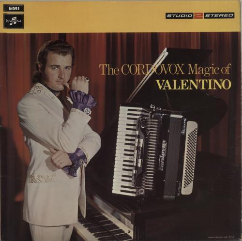 Valentino The Cordovox Magic Of Valentino 1970 UK vinyl LP TWO316