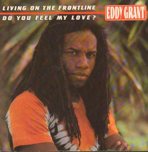 Eddy Grant Living On The Frontline 1980 UK 7 vinyl MER135