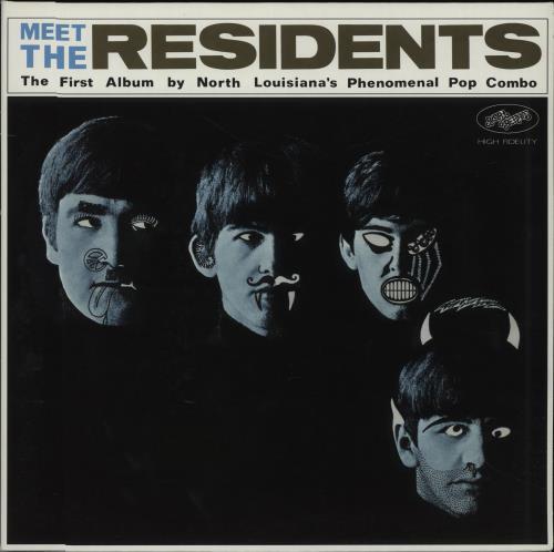 Residents - Meet The Residents - 180gm Green Vinyl