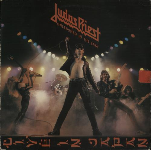 """Judas Priest - Unleashed In The East + 7"""" - Ex"""