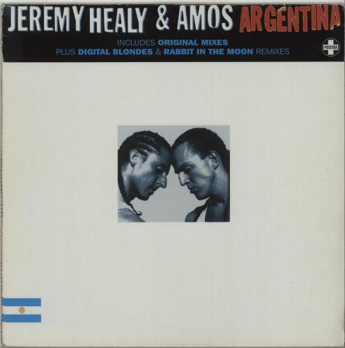 Jeremy Healy Argentina 1997 UK 12 vinyl 12TIV74