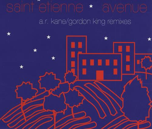 St Etienne Avenue  Remixes 1992 UK CD single HVN23CDR