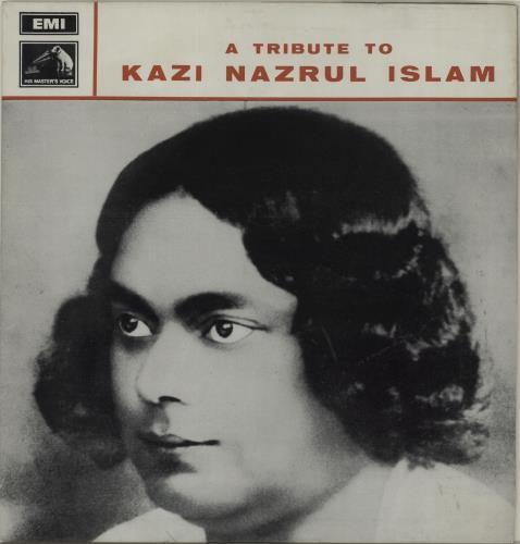 Firoza Begum A Tribute To Kazi Nazrul Islam 1970 Indian vinyl LP CLPC34